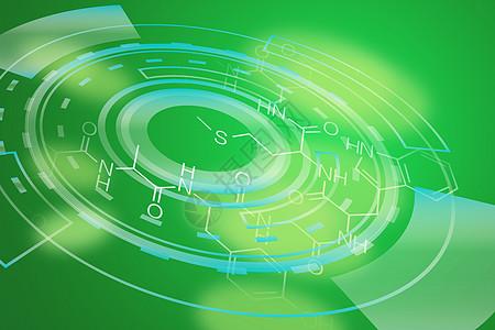 健康绿色医疗化学图片