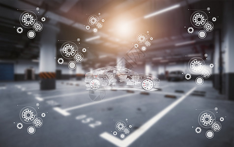网络智能停车场图片