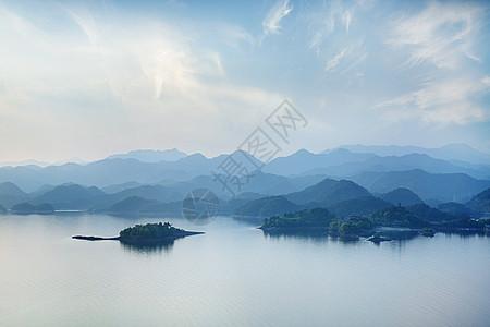千岛湖黎明图片