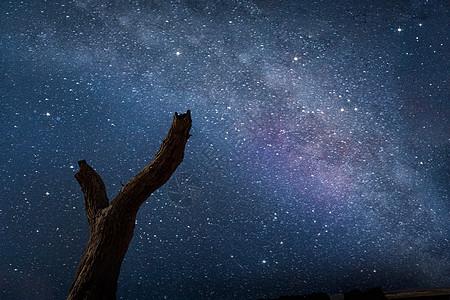 夏季星空图片