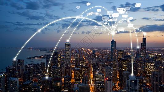 科学技术通讯城市图片
