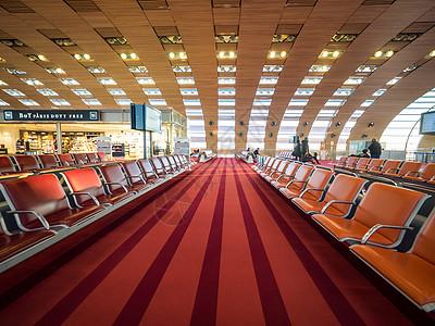 机场候机厅图片
