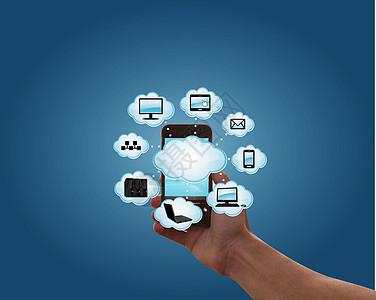 手机云服务图片