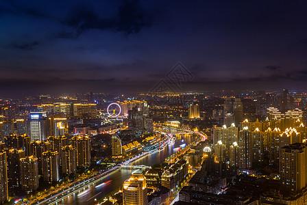 天津津湾之夜图片