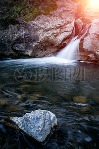 太平国家森林公园瀑布图片