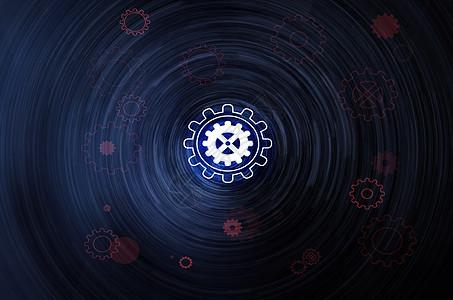智能科技素材酷炫背景图片