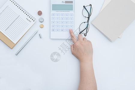 商务办公财会计算数据图片
