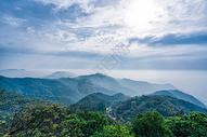 莫干山顶峰拍摄图片