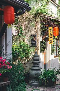 杭州小河古屋图片