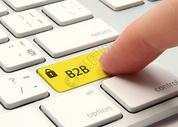 点击b2b的键盘特写图片