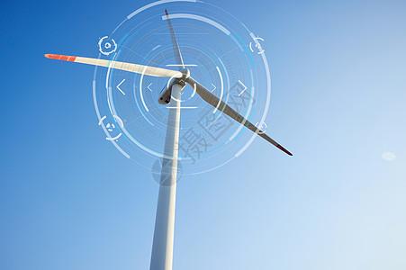 智能科技生活风车云服务图片