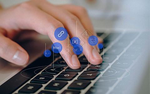 代码键盘图片