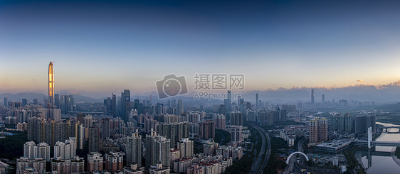 日照金楼深圳城市建筑风光图片