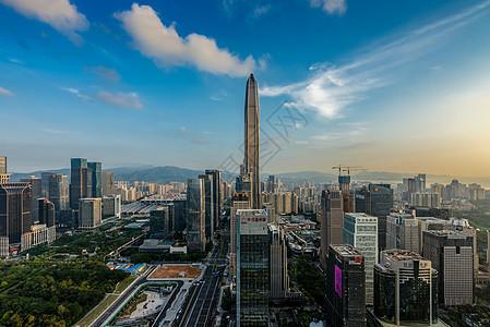 城市之心图片