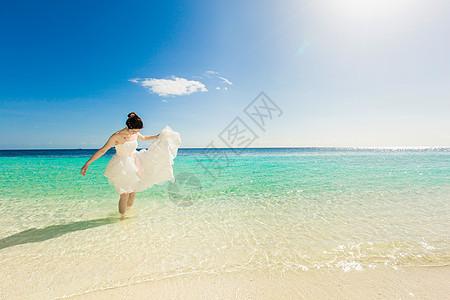 海边婚纱图片