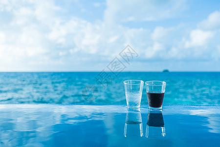 夏天的清凉饮品图片
