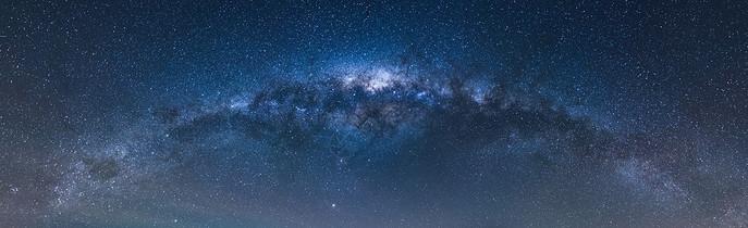 星空星轨银河素材图片