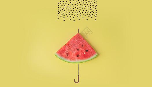 西瓜伞图片