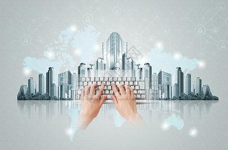 网络城市图片