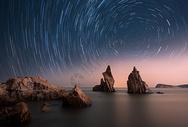 星空星轨图片