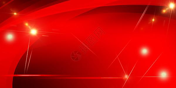 红色banner海报背景图片