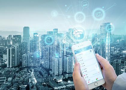 点击智能虚拟现实科技手机图片