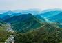 莫干山顶峰全景自然风景图片