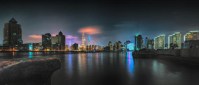 陆家嘴城市夜景图片