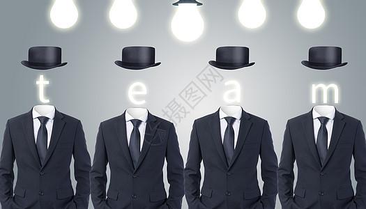 创意团队商业背景图片