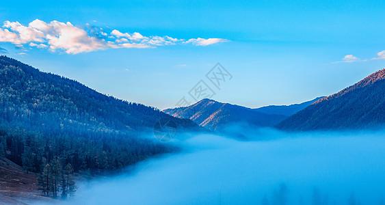 山川云雾图片