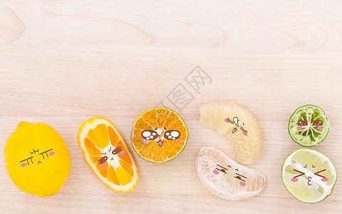 小清新水果背景图片