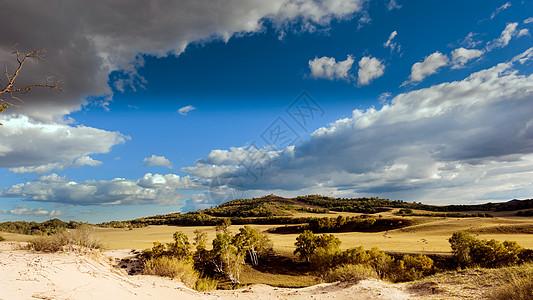 内蒙坝山草原图片