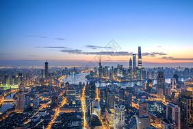 上海晨曦图片