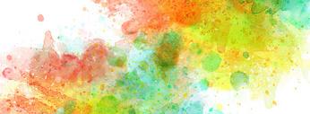 抽象喷溅banner背景图片