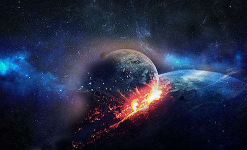 火星撞地球图片
