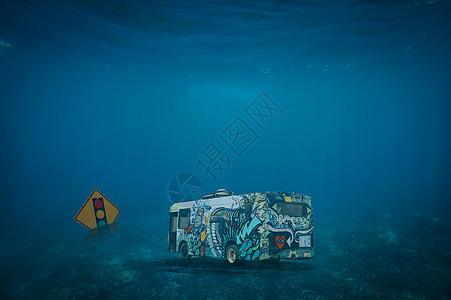 深海公交图片