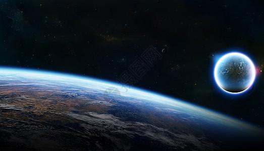 地球的边际线图片