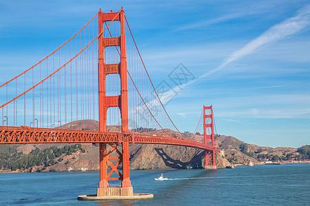 美国金门大桥图片