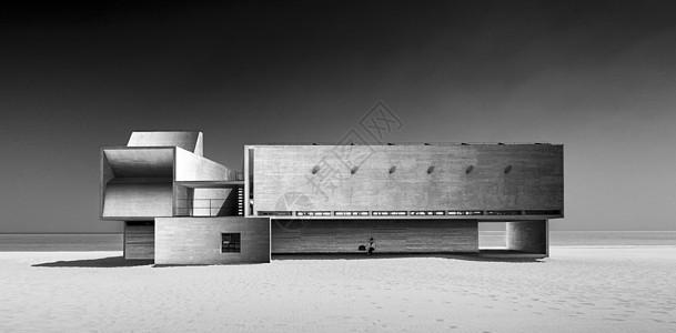 海边最孤独的图书馆图片