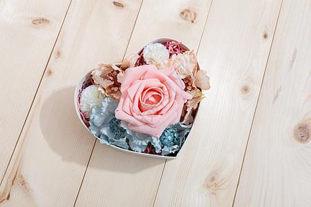 爱心花盒图片