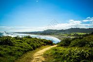 上脚下的海滩图片