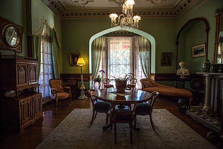 新西兰古堡拉纳克城堡内部客厅图片