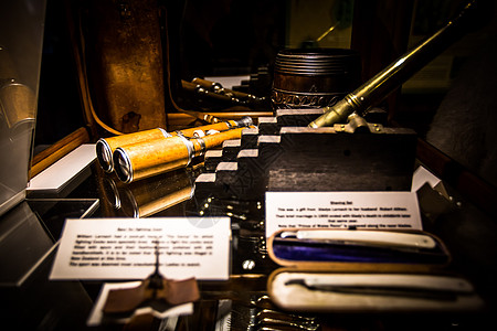 拉纳克城堡写字桌一角图片
