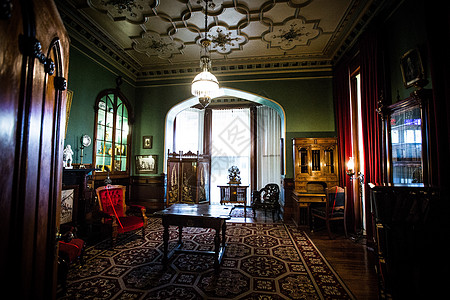 新西兰古堡拉纳克城堡起居室图片