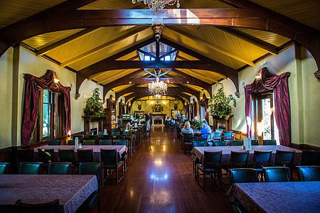拉纳克城堡欧洲唯一古堡建筑聚会餐厅图片
