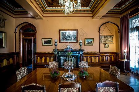 新西兰古堡拉纳克城堡餐厅图片