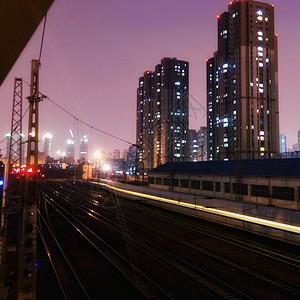 火车运行轨迹图片