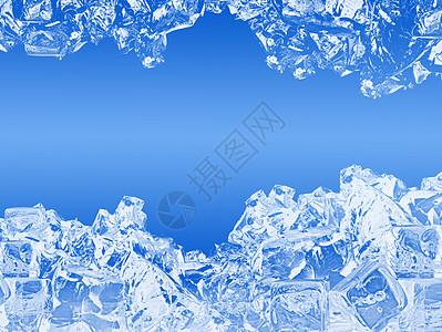 夏日创意冰块图片