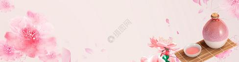 春天粉红色桃花灿烂盛开壁纸图片