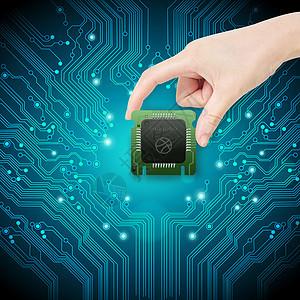 科技与芯片图片
